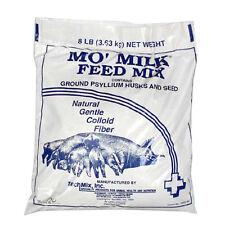 Tech Mix Mo' Milk Feed Mix Ground  00004000 Psyllium Husks & Seeds Gilts Sows 8lbs.