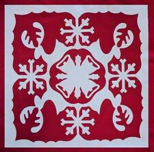 """North Pole 16"""" Fusible Appliques Silhouettes Set for 16""""-18"""" Quilt Blocks Crafts"""