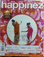 Happinez Issue 8 Go With The Flow Positive Wise & Loving Life FREE SHIPPING sb