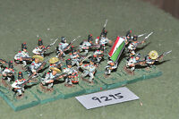 25mm ACW / mexican - american war infantry 21 figs metal painted - inf (9295)