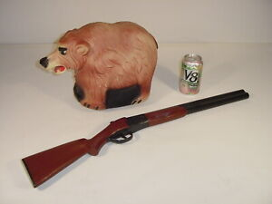 Vintage 1960's Marx Pop-A-Bear Battery Operated Bear & Dart Gun Toy Parts Repair