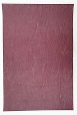 HORWEEN COACH GRAIN LEATHER 1 @ 330MM X 220MM 2.2 mm THICK OXBLOOD NOTEBOOKS