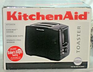 KitchenAid KTT3400OB 2-Slice Toaster w/Bagel and Warm Functions - Onyx Black