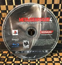Metal Gear Solid 4: Guns of the Patriots (PlayStation 3) USED (DISC ONLY) #10459