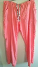 Grey's Anatomy slim fit scrub pants size 3XL Fizz pink color 5 pocket New w/ tag