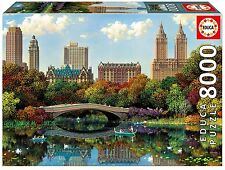 Educa 17136 - Central Park Bow Bridge- Puzzle de 8000 piezas - 192x136cm