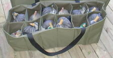 12 Slot Custom Decoy Bag Standard to Magnum Size Duck, Mallards, Marsh & Field