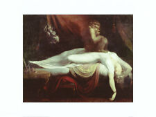 The Nightmare Art Poster Print by Henry Fuseli, 31.5x23.5