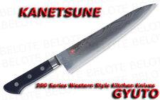 Kanetsune Damascus 210mm GYUTO Kitchen Knife KC-202 NEW