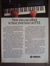 1986 original AD Yamaha DX21 FM electric Piano