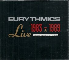 COFFRET 2 CD ALBUM LIVE 22 TITRES--EURYTHMICS--LIVE 1983-1989 + 6 EXCLUSIVE