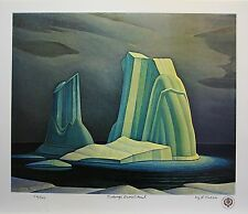Lawren HARRIS Group of Seven Icebergs , Davis Strait LE art print Group of Seven