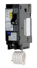 Siemens  HomeLine  Arc Fault/Single Pole  20 amps Circuit Breaker