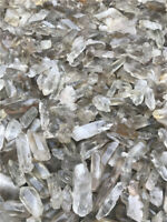 11lb Lot smoky quartz &Clear crystal mix Crystal Points Terminated Wand Healing