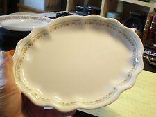 Vintage Homer Laughlin China Hudson Pink Floral Pattern Oval Serving Platter