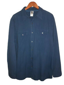 The North Face Long Sleeve Button Down Hiking Shirt MINT Mens (L)
