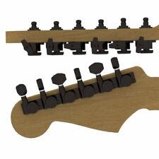 Hipshot® Locking Guitar Tuners~Fender® Directrofit~2 PIN~6 Inline~Black~21:1~New