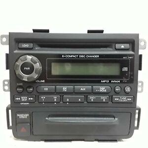 09 10 11 12 13 14  Honda Ridgeline am FM 6 disc CD radio receiver 39101-SJC-A512