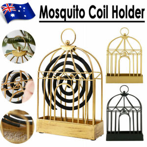 Mosquito Coil Holder Outdoor Birdcage Decor Burner Repellant Garden Mozzie Home