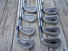 Cleveland TA3 GunMetal Forged Iron Set Golf Club 3-P Right Hand Steel D Gold Reg