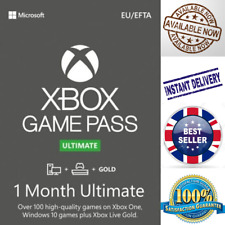 Xbox Game Pass Ultimate + Live Gold - 1 Month Keys - Global - Xbox/PC - INSTANT