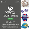 Xbox Game Pass Ultimate + Live Gold - 1 Month Keys - Global - Xbox one - INSTANT