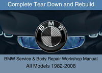 BMW ALL Models Service Repair Workshop Manual Complete Tear Down Rebuild DVD-ROM