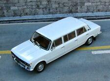Nice 1/43 Fiat 125P Jamnik Stretch Limo White Deagostini Warsaw Poland