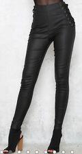 FOREVER HOT NEW TIGERMIST BLACK HIGH WAIST SKINNY LEG PANTS 6 8 10 12