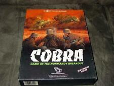 TSR SPI  COBRA  game of Normandy Breakout - EXPANDED EDITION (UNP)