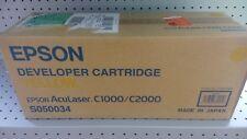 Toner EPSON S050034 originale giallo per Aculaser C1000/C2000 6000 pag.