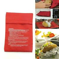 Microwave Baked Potato Bag Kitchen Washable Cooker Tools Bag Baked R7R1