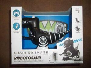 New Sharper Image Robotosaur Remote Control Robotic Dinosaur Wireless