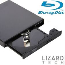 USB 2.0 Slim External Blu Ray Drive Player BD ROM, DVD / CD-RW Burner Rewriter