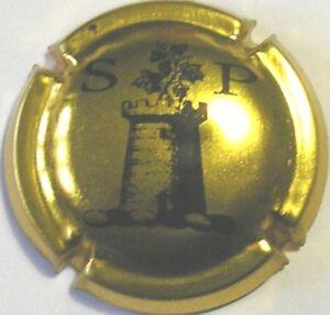 CAPSULA SPUMANTE PLAQUES PLACA DE CAVA San Pietro Poderi lettere s p torre (399)