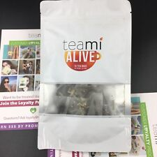 TEAMI BLENDS ALIVE TEA - Natural Energy Boosters Remove Toxins Speed Metabolism