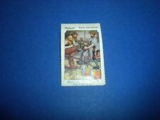 BECHSTEIN 2 Fairy Tale stamps 1910 Piedmont T333? Wentz tobacco premium