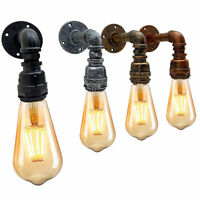 Edison Lamp Vintage Industrial Wall Light  Sconce Water Pipe Retro steam punk