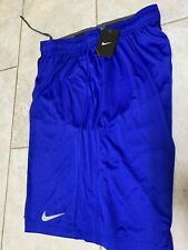 Nike Dri-Fit Blue Basketball Shorts Mens 361056-493 Xl New With Tag