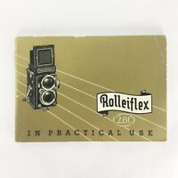 Vintage 1954 ROLLEIFLEX 2.8C In Practical Use Instruction Owners Manual English