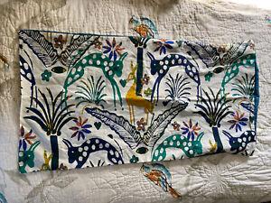 NEW Opalhouse Jungalow Jungle Print King Size Pillow Sham