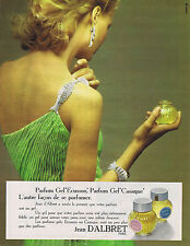 PUBLICITE ADVERTISING 074 1973 JEAN D'ALBRET Parfum Gel 'Ecusson' et 'Casaque'