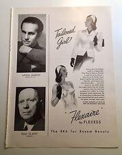 Vintage Flexaire Bras Bosom Beauty Ad Ads 1940s Contour Brassieres Flexees