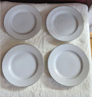 Crown Victoria Lovelace Bread & Butter Plate 4 pc Set Fine China