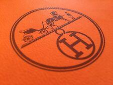 HERMES Medium Designer Paper Shopping Bag