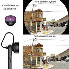 198°Fisheye 150° Wide Angle Lens + 10X Macro Lens for iPhone 6S 7 Samsung S7 S8