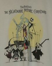 The Nightmare Before Christmas Disney Halloween Town Tour Womens Size L Shirt