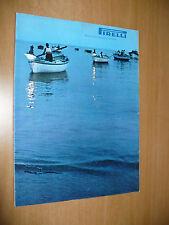 PIRELLI RIVISTA D'INFORMAZIONE E TECNICA N.7-8 1968 PUGLIA DIS.RAFFAELE CARRIERI
