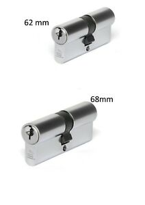 ALSPEC FIXED CAM 62mm  /  68mm EURO PROFILE CYLINDER