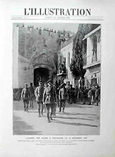 * L' ILLUSTRATION N°3908 del 26 Janvier 1918 * L'ENTREE DES ALLIES A JERUSALEM